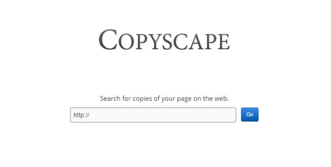 copyscape para detectar contenido duplicado. Herramienta de marketing online Valencia