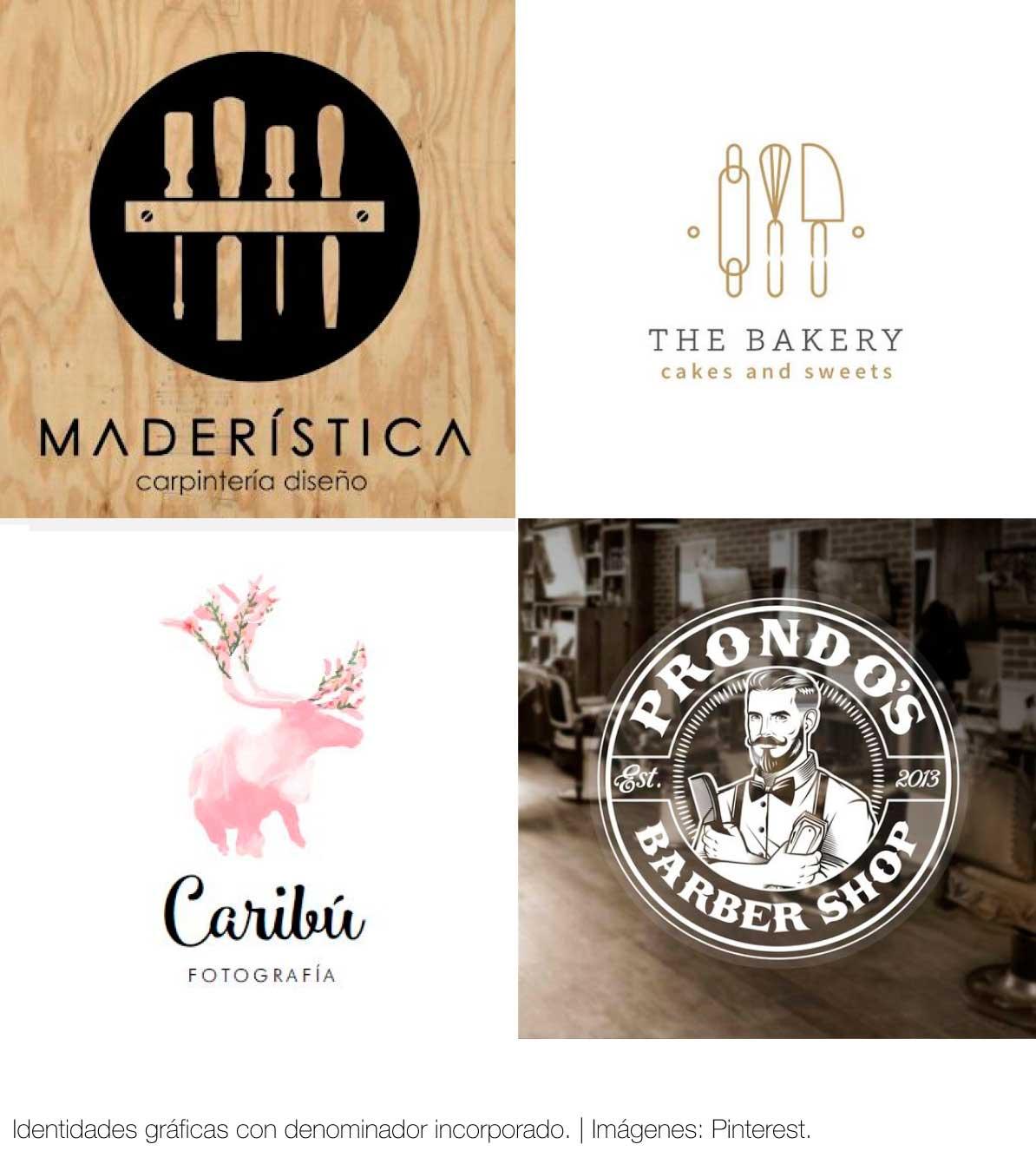 Agencia diseño gráfico: Identidad corporativa, Denominador, descriptor.